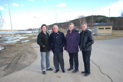 Reprsentanter från Gammelstilla byalag på studiebesök i Rengsjö