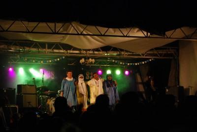 Ökenrockaren Bombino och hans band fick festivalpubliken i Rengsjö att gunga loss.