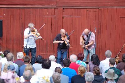 20-årsjubilerande folkmusikgruppen Draupner spelar i Rengsjö.