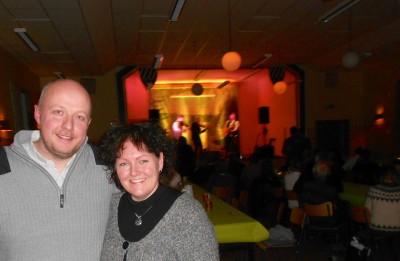 Annika och Kalle Hagelin svarade för det praktiska i arrangemanget och ska ha en stor eloge för detta initiativ.
