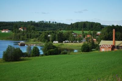 Ett bad i Östersjön vid campingplatsen skulle bli ett lyft för campingen och hela centrumområdet, menar Rengsjö Framtid.