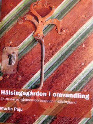 Avhandlingen är på drygt 200 sidor och innehåller en hel del om det ideella arbetet som bybor lägger ned vid Hälsingegårdarna i Västerby.